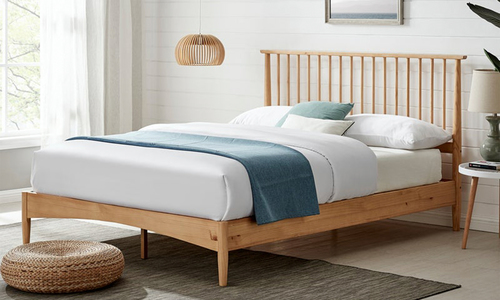 Natural oslo nordic spindle timber bed 3013   web1