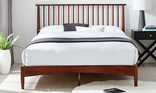 Walnut oslo nordic spindle timber bed 3013   web1