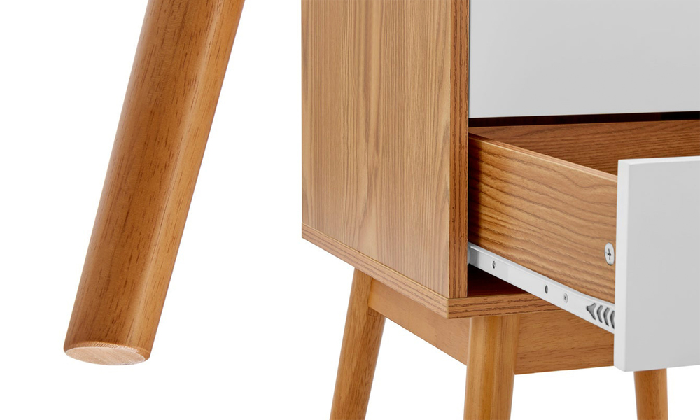 Norway two drawer bedside table 3026   web4