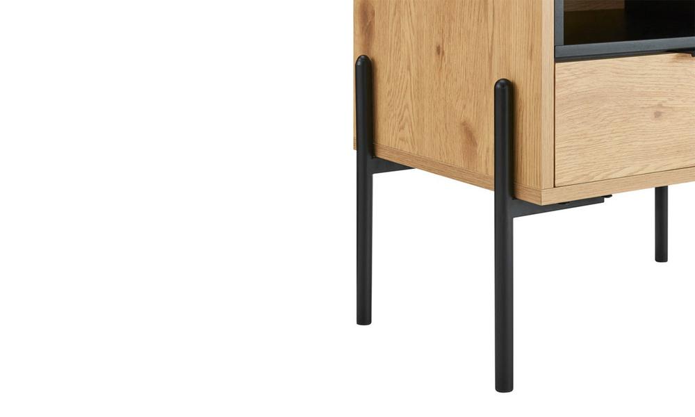 Oslo oak single drawer modern bedside table 3028   web6