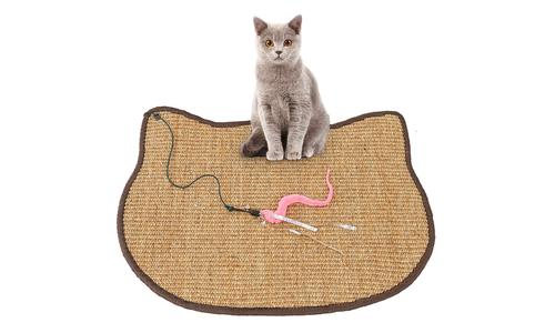 Pink modern pets cat scratching sisal mat 2927   web2