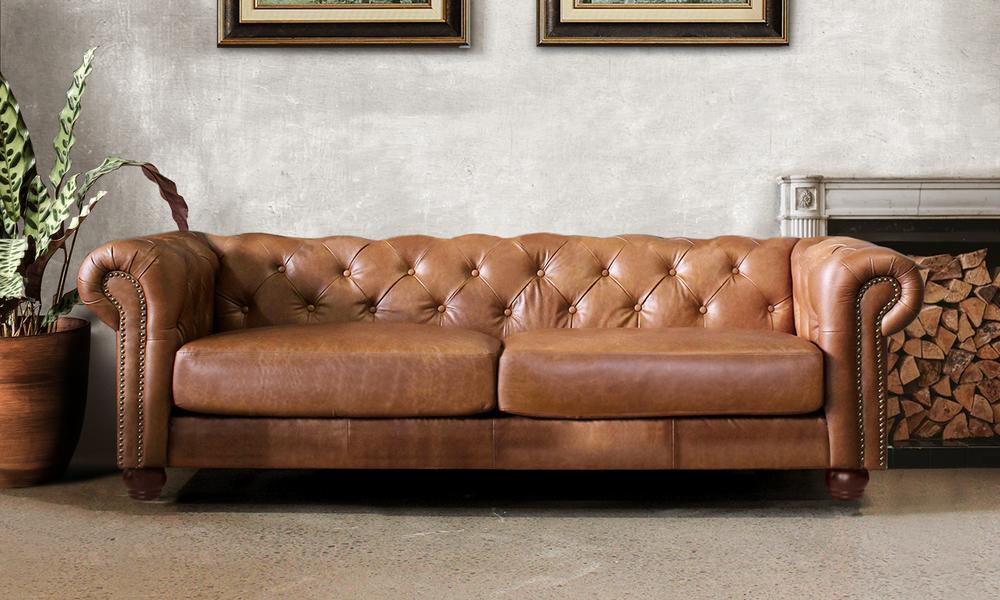 Lexington 3 seater leather chesterfield sofa lifestyle   web1