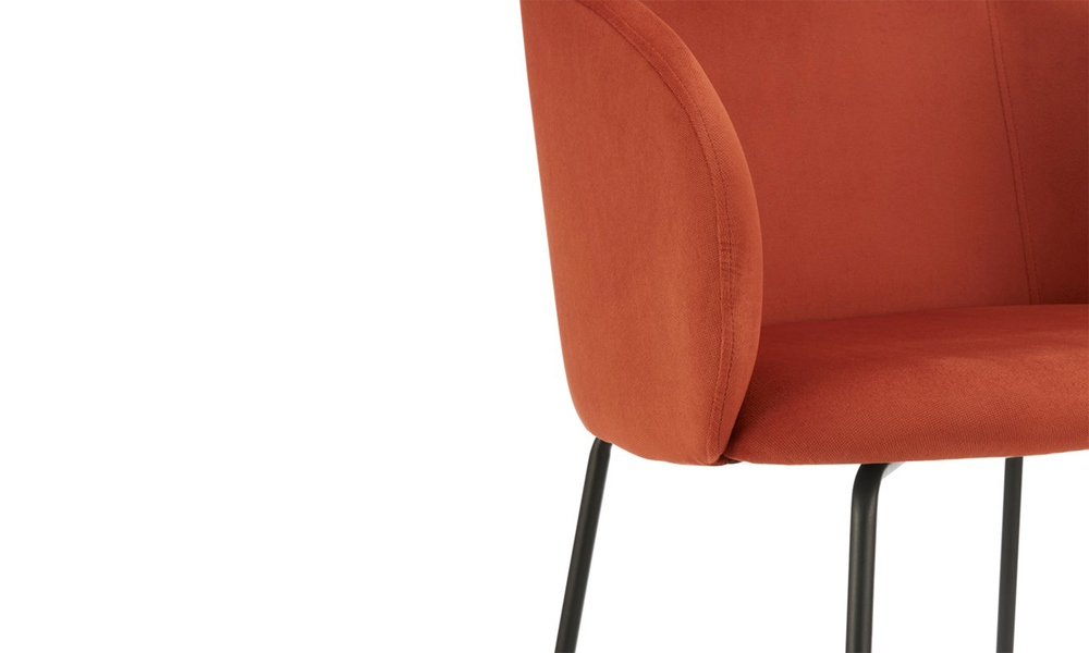 Cooper willow upholstered carver dining chair 3061   web4