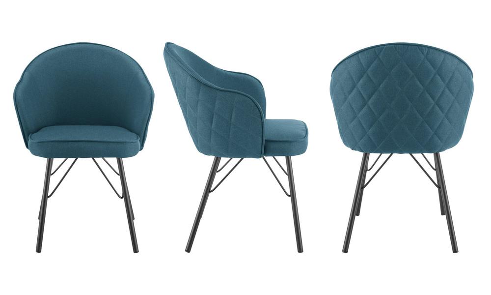 Blue lennon upholstered dining chair 3060   web3