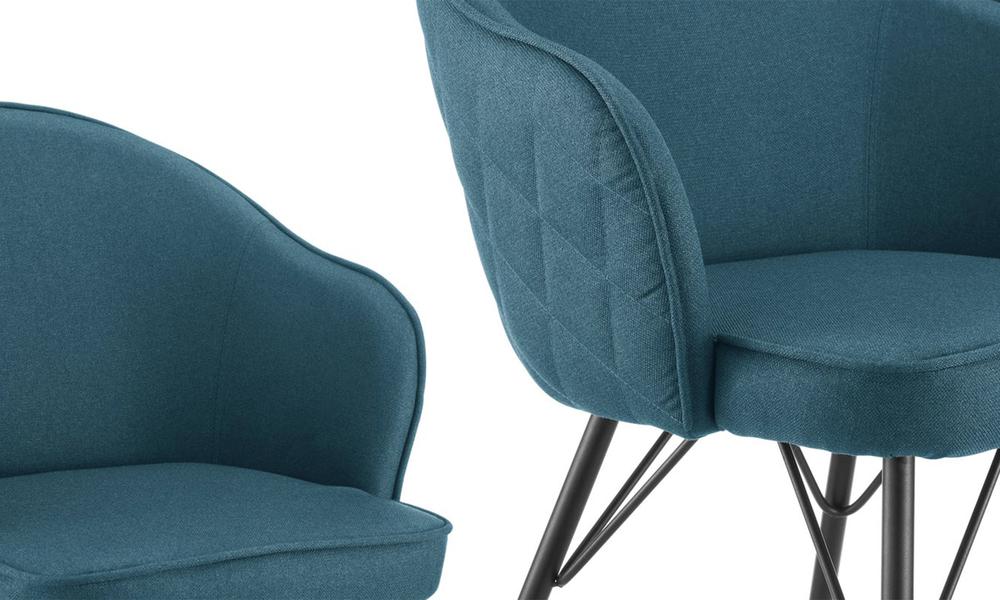 Blue lennon upholstered dining chair 3060   web4