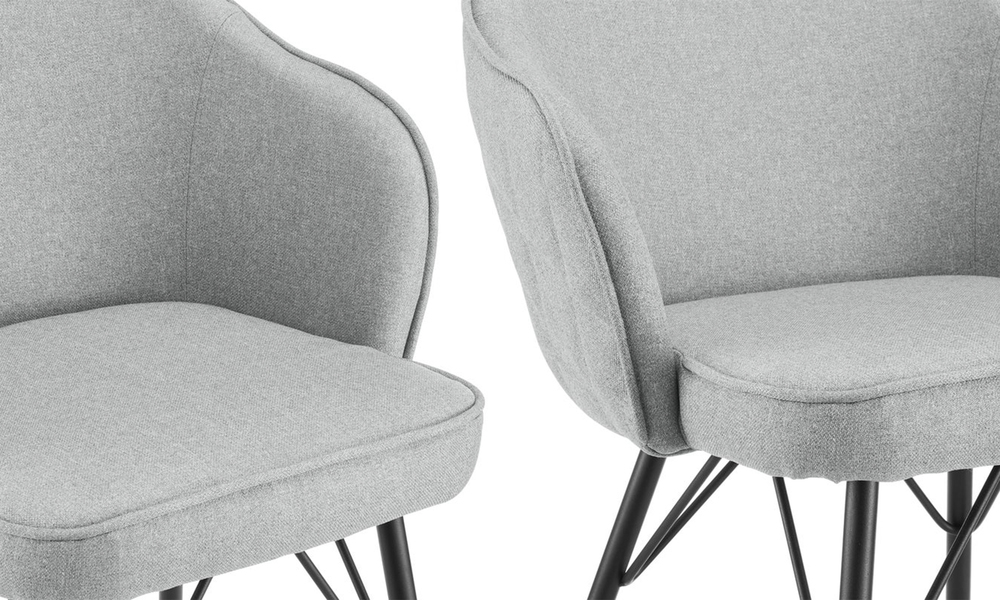 Grey lennon upholstered dining chair 3060   web4