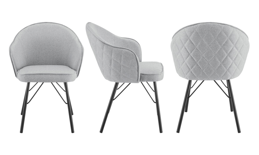 Grey lennon upholstered dining chair 3060   web3