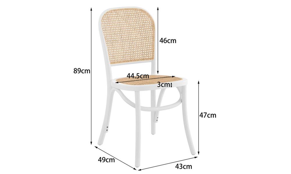 Harlo beech   rattan dining chairs 3054   web2