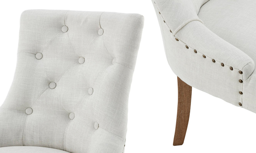 Ivory belle scoop back provincial upholstered dining chairs 3052   web4