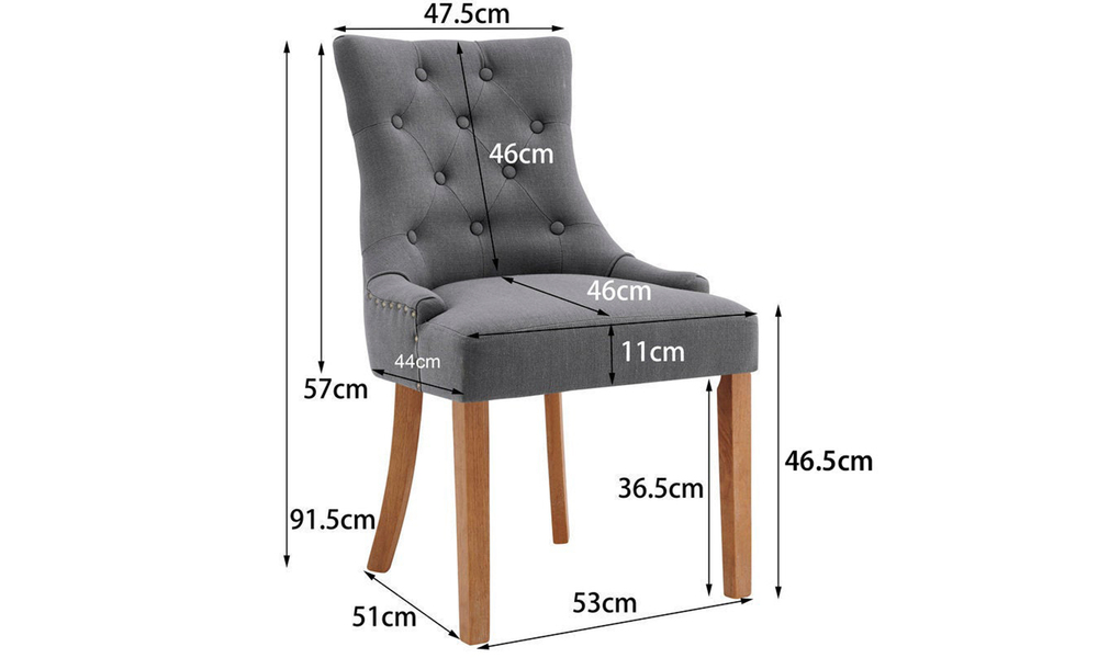 Grey belle scoop back provincial upholstered dining chairs 3052   web2