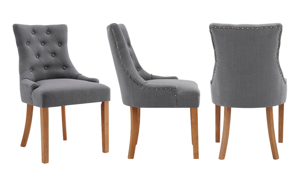 Grey belle scoop back provincial upholstered dining chairs 3052   web3