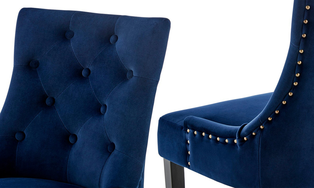 French navy belle scoop back provincial upholstered dining chairs 3052   web4