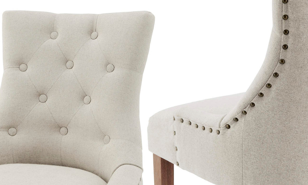 Beige belle scoop back provincial upholstered dining chairs 3052   web4