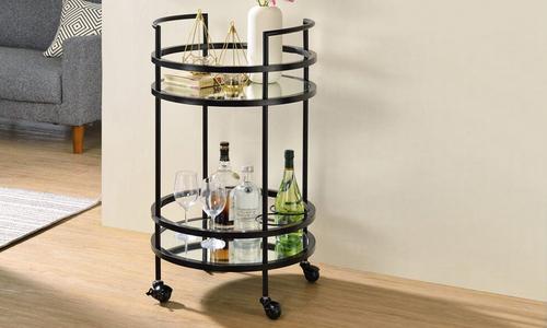 Black dukeliving santa monica bar cart 3071   web1