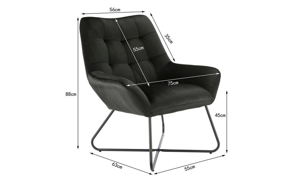 Dark grey dukeliving easton velvet resting armchair 3087   web3