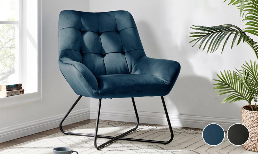 Dukeliving easton velvet resting armchair 3087   web1