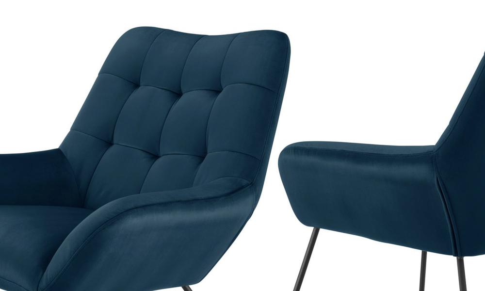 Navy dukeliving easton velvet resting armchair 3087   web4