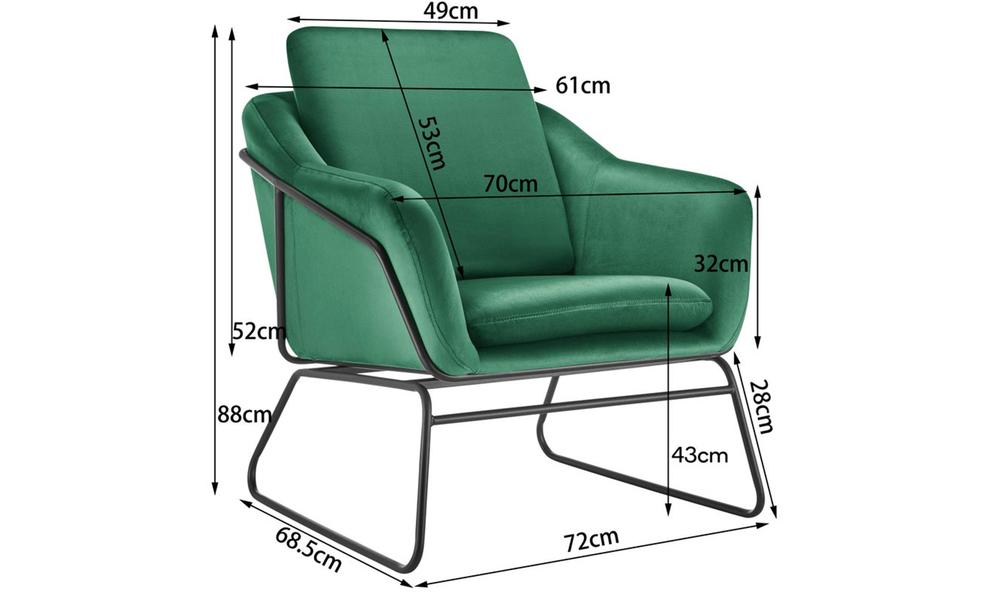 Dark green dukeliving nashville velvet armchair   web3 %281%29