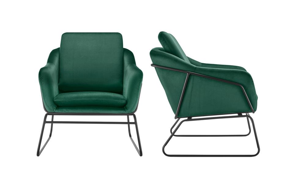 Dark green dukeliving nashville velvet armchair   web2