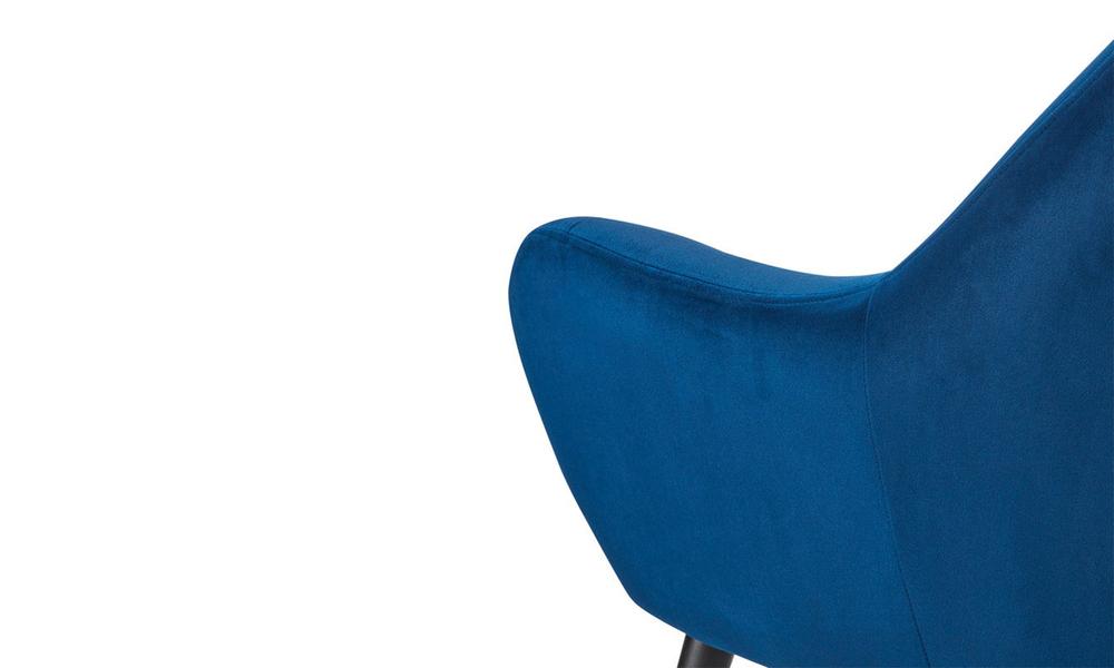 Dark blue dukeliving st. barts tufted velvet armchair 3097   web4