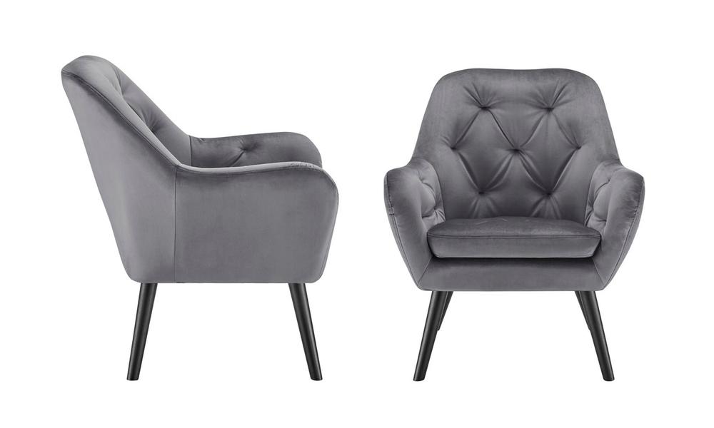 Grey dukeliving st. barts tufted velvet armchair 3097   web2