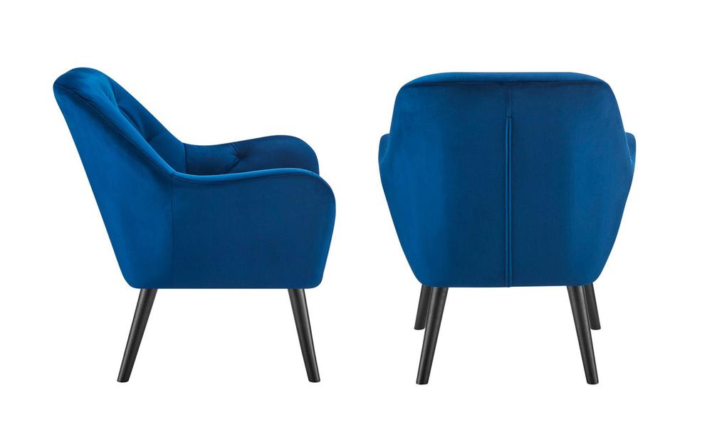 Dark blue dukeliving st. barts tufted velvet armchair 3097   web2