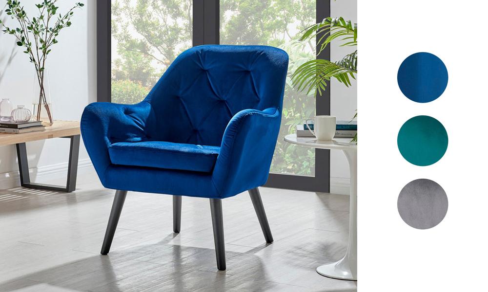 Dukeliving st. barts tufted velvet armchair 3097   web1