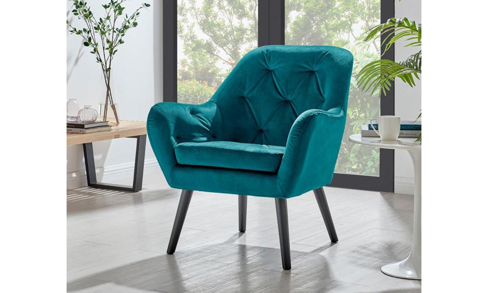 Teal dukeliving st. barts tufted velvet armchair 3097   web1