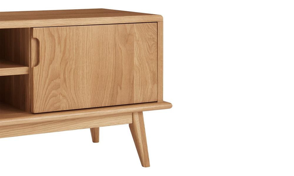 Dukeliving 140cm jakob oak tv unit 3775982 07