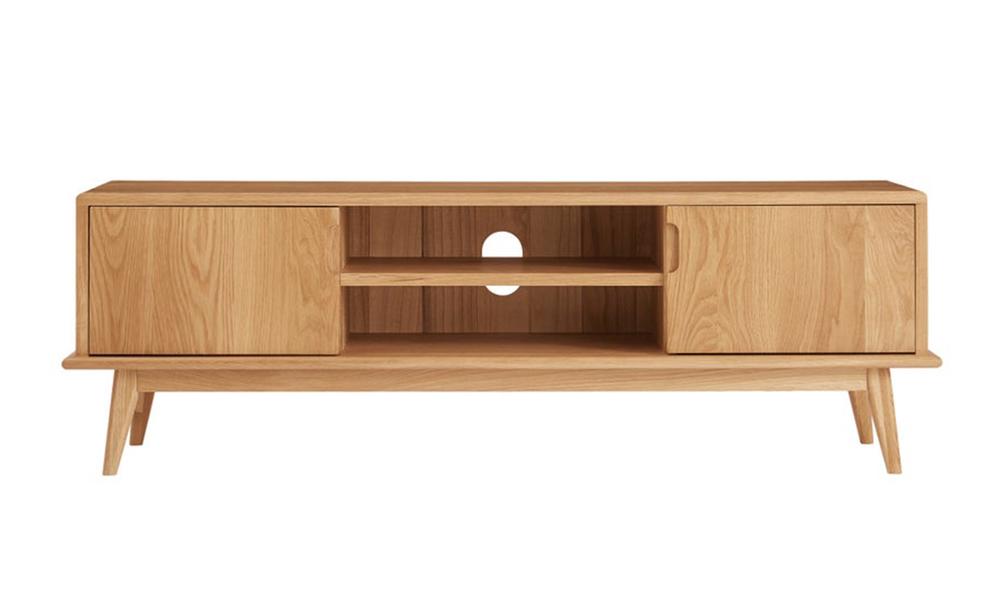 Dukeliving 140cm jakob oak tv unit 3775982 02