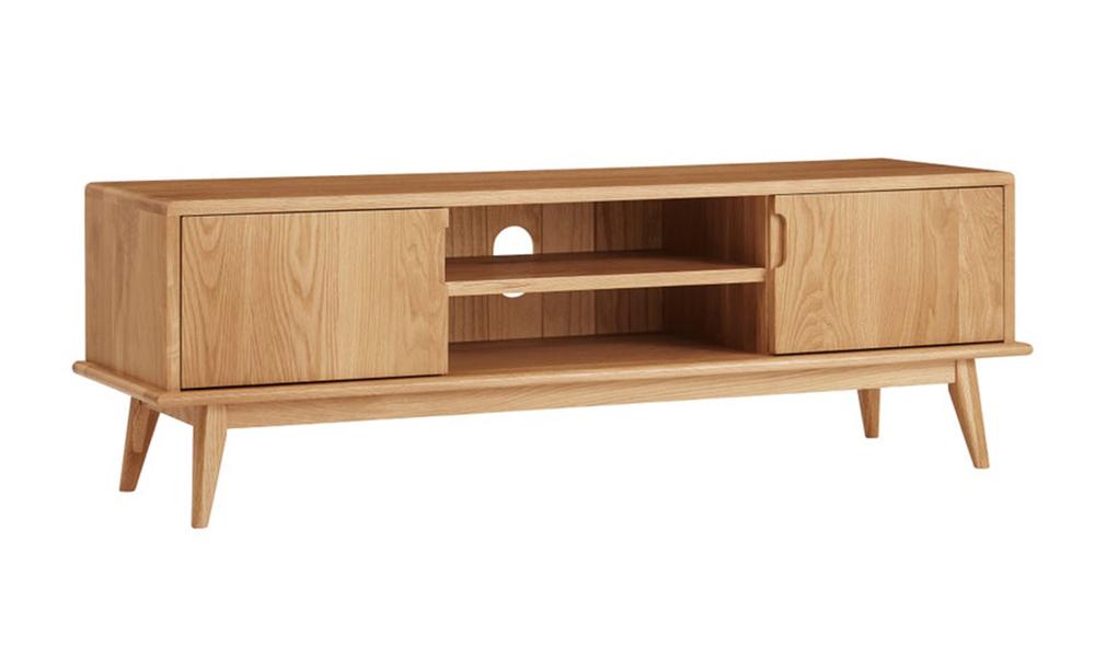 Dukeliving 140cm jakob oak tv unit 3775982 01