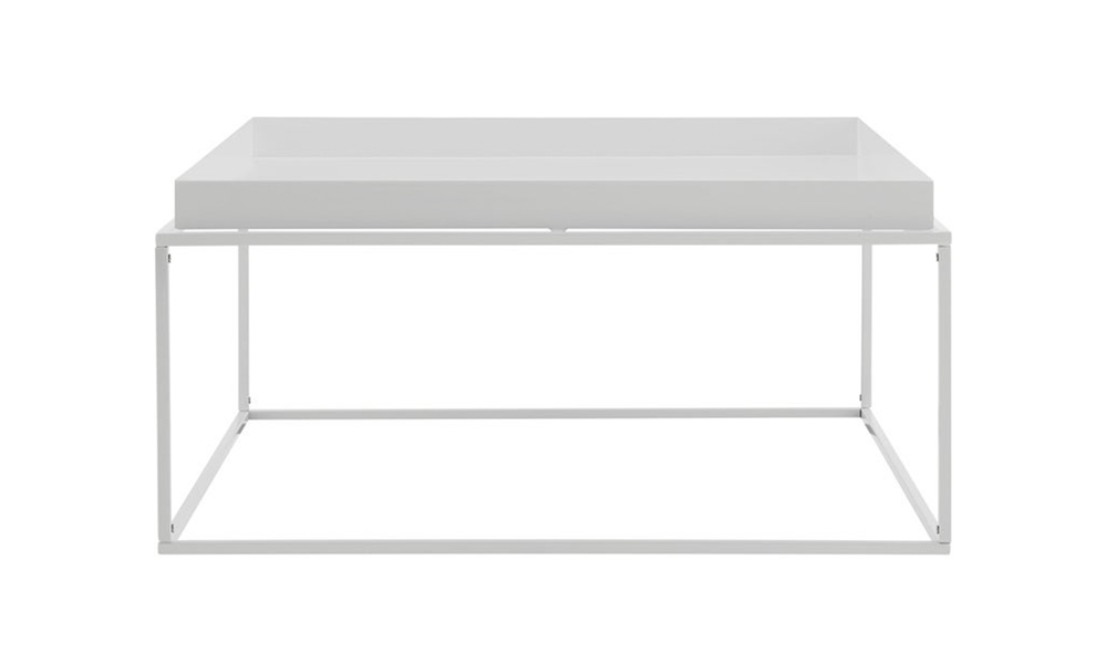 White dukeliving florence tray top steel side table 3100   web3