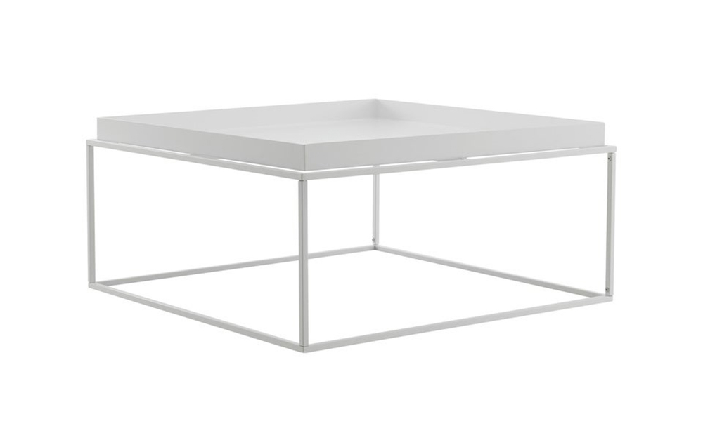 White dukeliving florence tray top steel side table 3100   web4