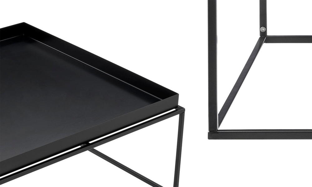 Black dukeliving florence tray top steel side table 3100   web5