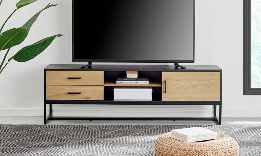 Dukeliving nordic 160cm entertainment unit 3271729 01