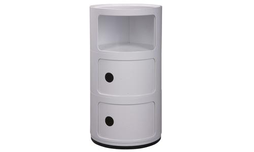 White   replica anna castelli 3 tier postbox   web1