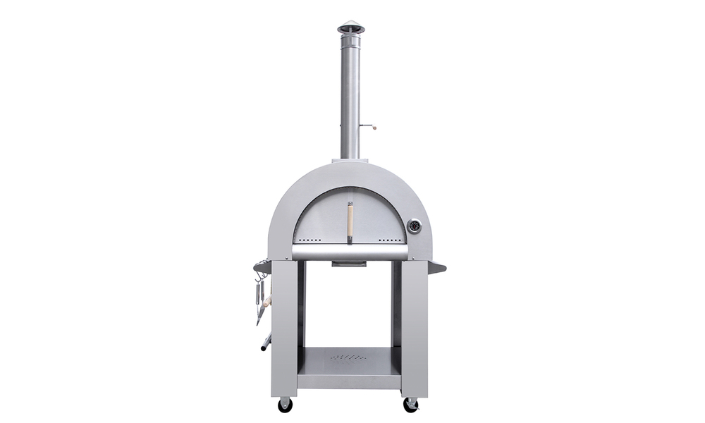 Freestanding pizza oven   stainless steel 3190   web1