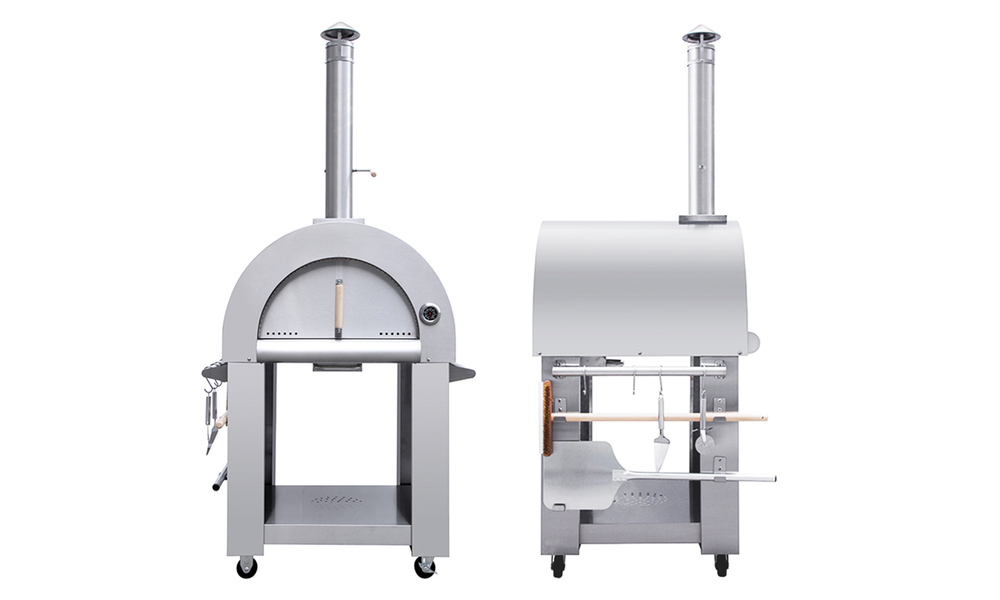 Freestanding pizza oven   stainless steel 3190   web2