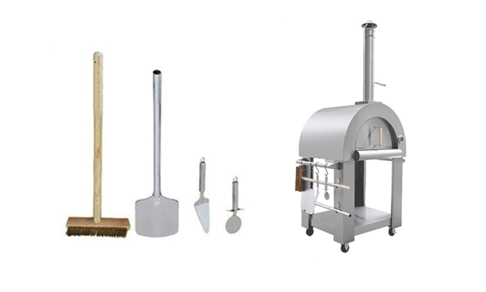 Freestanding pizza oven   stainless steel 3190   web3 copy