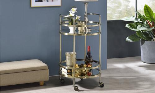 Gold dukeliving santa monica bar cart 3071   web1