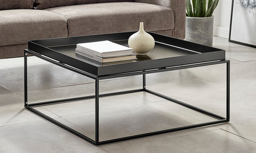 Black dukeliving florence tray top steel side table 3100   web1