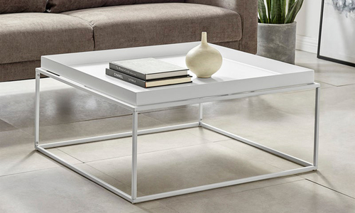 White dukeliving florence tray top steel side table 3100   web1