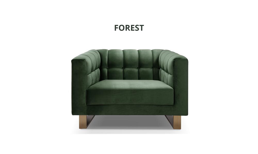 Forest   nero velvet occasional chair 3222   web1