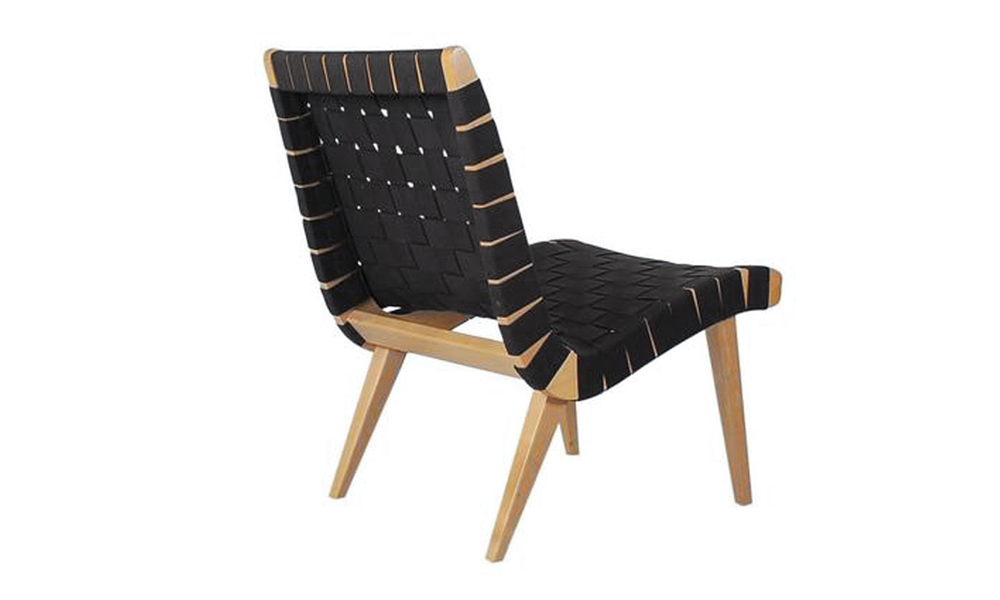 container door replica jens risom straps lounge chair and ottoman 1