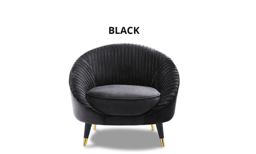 Black   victoria velvet armchair   web