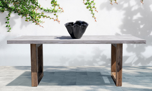 Genk 2.1m concrete dining table web1
