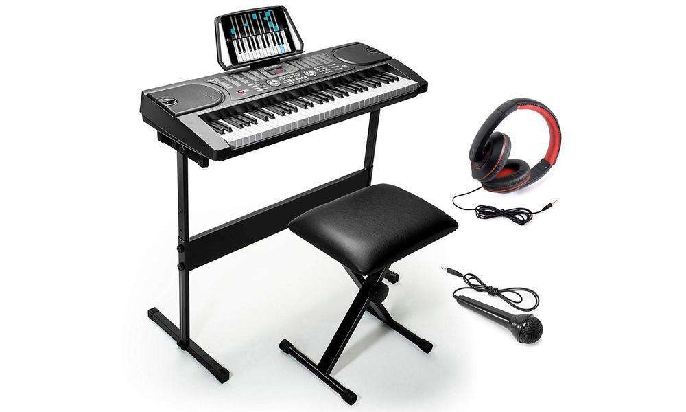 61 keys led electronic piano keyboard set 2857   web1 copy