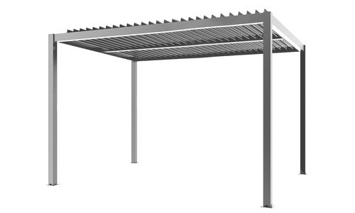 294 x 394 matte grey   aluminium pergola   web 1