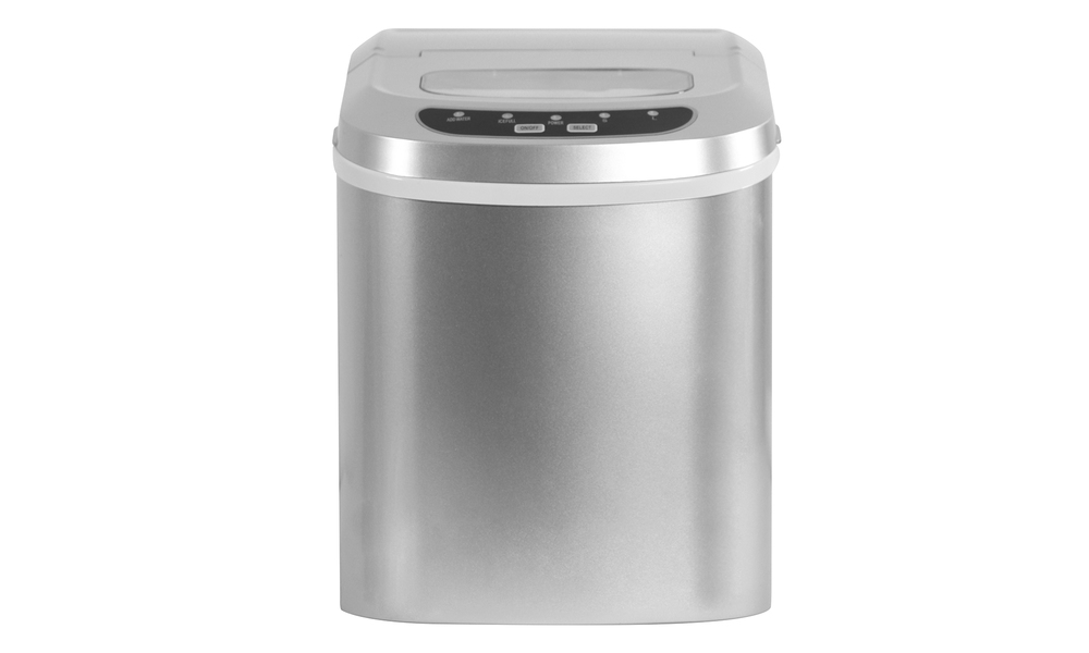 Benchtop ice maker silver web 3