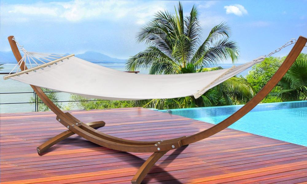 New wooden hammock stand   hammock   web %281%29